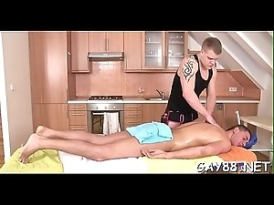 Homosexual couples massage